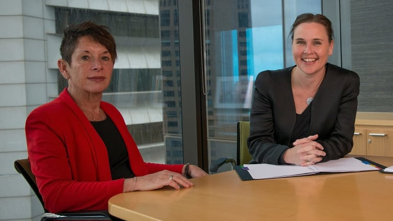 Then MFB Chair Andi Diamond, and then Emergency Services Minister Jane Garrett in May, 2015.