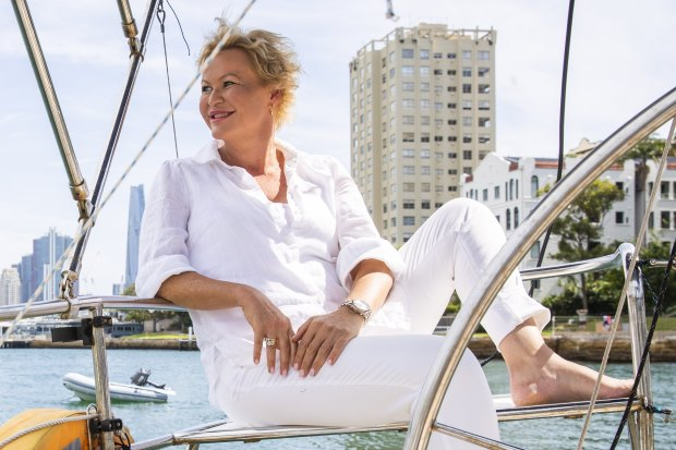"""""""I decided if it all goes very wrong, there's nowhere I'd rather be than on the water,"""" boat owner Emma Harvey said."""