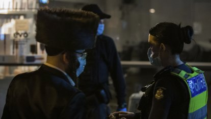 Ultra-Orthodox prayer groups have breached lockdowns since last year