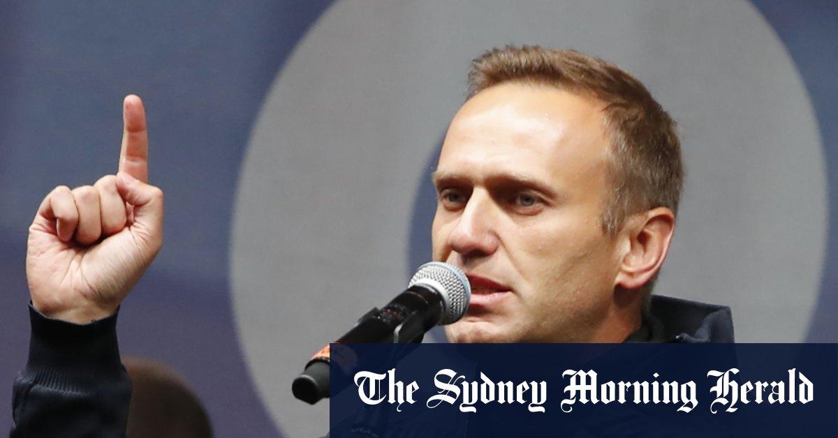 Novichok used on Navalny 'harder than previous forms' – Sydney Morning Herald