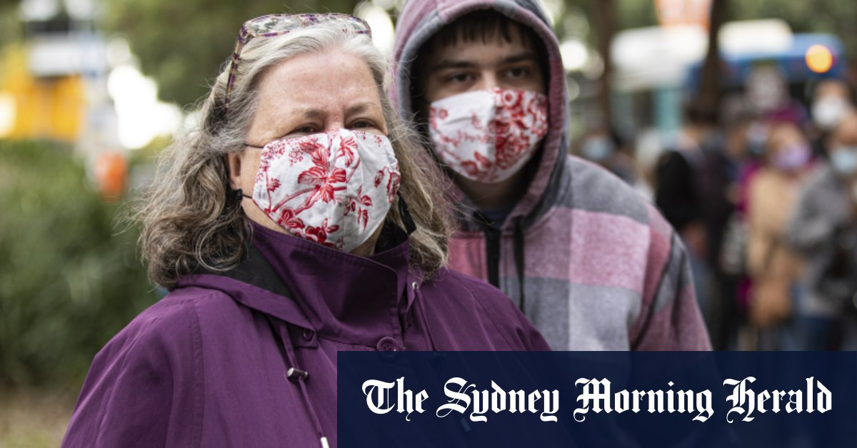 'A small price to pay': Pfizer queues busy at Olympic Park despite the cold – The Sydney Morning Herald