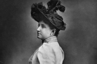 Nellie Melba, circa 1890.