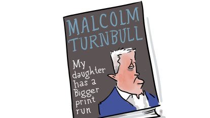 Turnbull's book and sucking up to the (former) boss