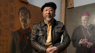 Jiawei Shen went on to become one of Australia's most celebrated portrait artists after being granted asylum.