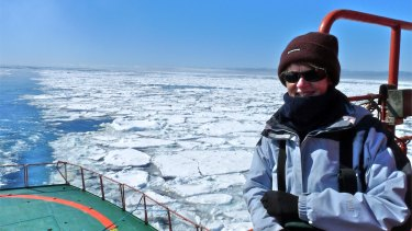 Out in the cold: Author Jesse Blackadder experiences Antarctica first hand.