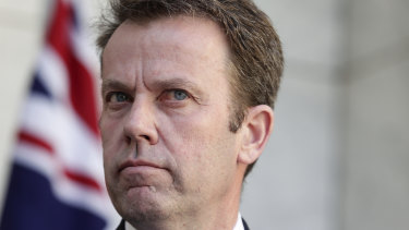 Education Minister Dan Tehan says he will wait for a review before deciding whether to proceed with the taskforce.