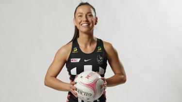 Collingwoodnetballer Kelly Altmann is making the most of her second chance in Super Netball.