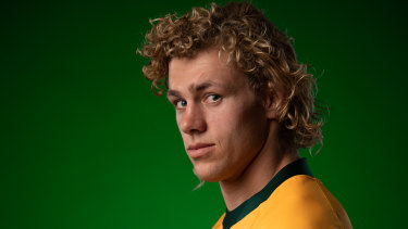 Ned Hanigan didn't play for the Wallabies in 2019. He's straight into the starting XV for today's clash.