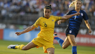 Bristol bound: Chloe Logarzo is set to leave Sydney FC for the FA Women's Super League.