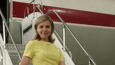 Justine Clarke fronts Australia Come Fly with Me.