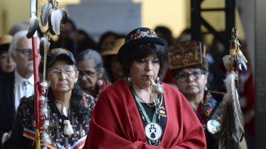 The closing ceremony for the National Inquiry into Missing and Murdered Indigenous Women and Girls in Gatineau, Quebec.