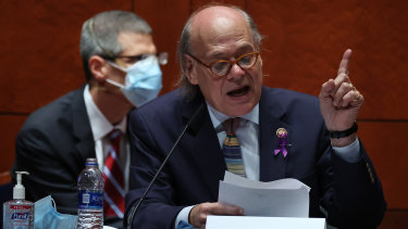 Representative Steve Cohen, a Democrat from Tennessee, speaks during a House Judiciary Committee hearing in Washington, DC.