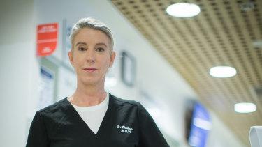 Dr Sarah Whitelaw.