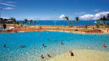 Airlie Beach lagoon.
