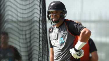 A record awaits: Ross Taylor.