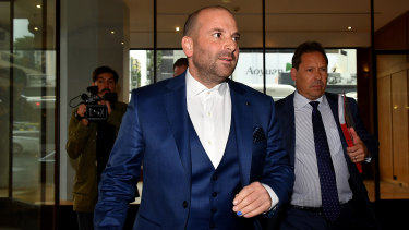The food empire founded by George Calombaris has collapsed.
