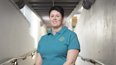 New Commonwealth Games chef de mission Petria Thomas.