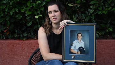 Former Detective Sergeant Malinda McLachlan became a police officer in 2001 and was medically discharged in July 2018.