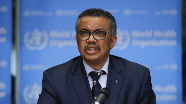 """We are in a fight that can be won"": Tedros Adhanom."