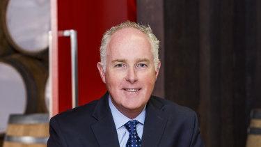 Treasury Wine Estates chief executive officer Michael Clarke.