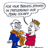 Ron Tandberg cartoon, first published in The Age in 1999.