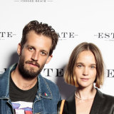 Genetically blessed couple Sam Margin and Rosie Tupper.