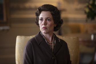 Olivia Colman portrays Queen Elizabeth II.