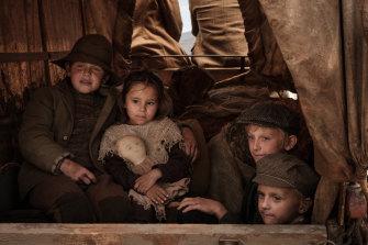 Children are caught in the crossfire in the movie: Malachi Dower-Roberts (Danny Johnson), Amahlia Olsson (Delphi) , Jobe Zammit-Harvey (Joe Junior) and Nash Zammit-Harvey (Henry James).