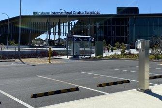 Brisbane International Cruise Terminal.