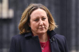 Anne-Marie Trevelyan, minister for International Development.