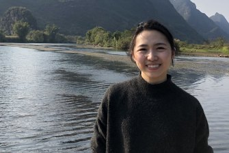 Final-year Monash medicine student Dorothy Wang, 23, is in her third year of hospital placements.