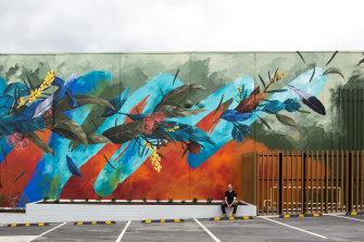'Maroondah' mural by David Meggs Hooke