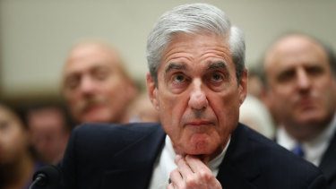 Robert Mueller, former special counsel, appears before a House Judiciary Committee hearing on Wednesday.