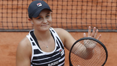 Champion in waiting: Legends of tennis believe Ashleigh Barty has what it takes to win the French Open.