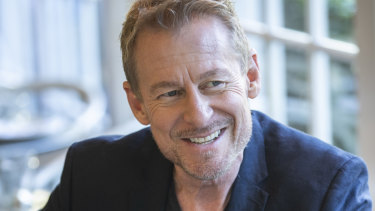 Actor Richard Roxburgh.