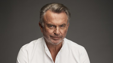 Sam Neill, one of the entertainment industry's great charmers.
