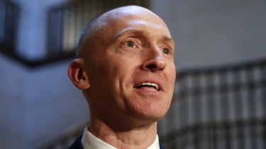 Carter Page emerged as an associate of Lauren Sanchez' brother, Michael.