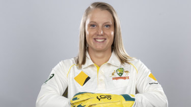 Alyssa Healy says she is proud to be a player in a sport that has such a comprehensive parental leave policy.