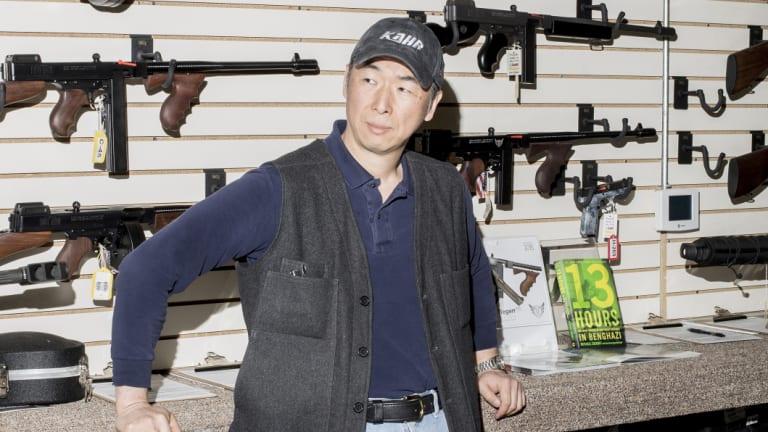 "Kook Jin ""Justin"" Moon owns Kahr Arms' Tommy Gun Warehouse in Greeley, Pennsylvania."