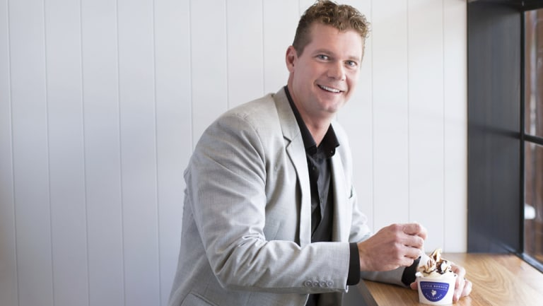 Justin Fischer is the founder of soft serve and frozen yoghurt manufacturing business Brullen.