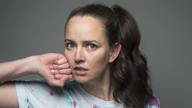 """""""Comedy can open us up to new ideas,"""" says Zoë Coombs Marr."""