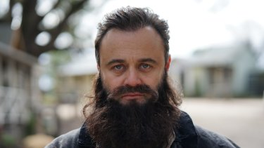 Gyton Grantley in the Drunk History re-telling of Ned Kelly.