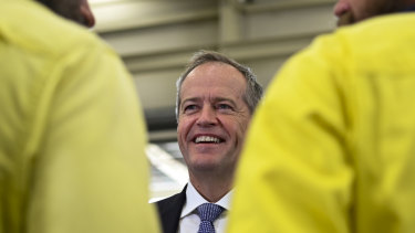 """Labor leader Bill Shorten says the latest inflation figures show the national economy is """"running on empty""""."""