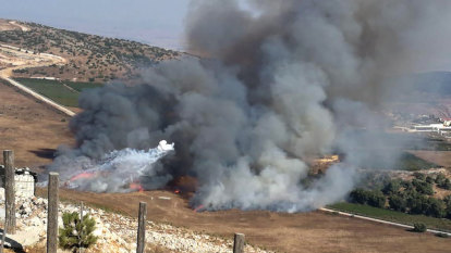 Israel and Hezbollah exchange fire along Lebanon border