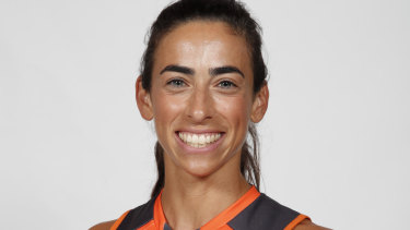 Amanda Farrugia, is a AFLW player for the GWS Giants.