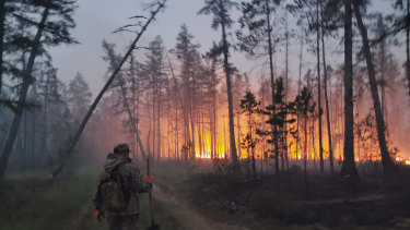 Heatwaves have caused fires in Siberia and raised deep concerns about the melting permafrost.