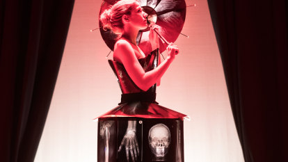 Industrial fashion reinvents the wheel. And the X-ray.