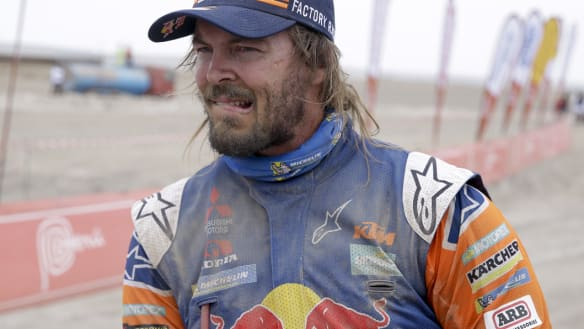 Price finally takes lead on eighth stage of Dakar Rally