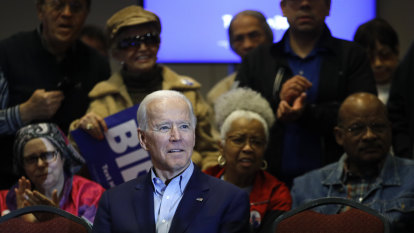 Biden says Sanders should disown aggressive supporters