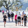 Rush to parks, cycleways during shutdown reveals Sydney's great divide